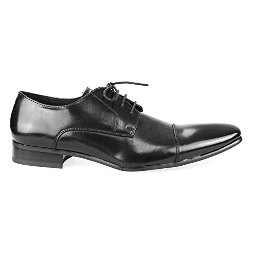 Oxford Black Mpt125 Collection Lace Shoes Shoes Mens up MM Derby Intorechato ONE 12 X7TqRR