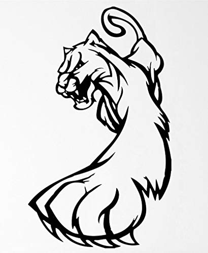 Beast Predator Lynx Wild Cat Claws Grin Fangs Transfer tattoos tattooing temporary tattoos Cute Face stickers