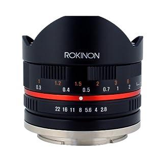 Rokinon 8mm F2.8 UMC Fisheye II (Black) Fixed Lens for Sony E-Mount (NEX) Cameras (RK8MBK28-E) (B00JD4TA7I)   Amazon price tracker / tracking, Amazon price history charts, Amazon price watches, Amazon price drop alerts