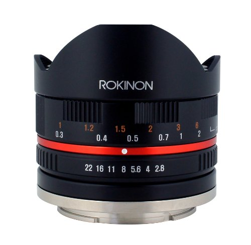 Rokinon 8mm F2.8 UMC Fisheye