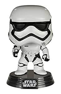 Funko - Figurine Star Wars Episode 7 - First Order Stormtrooper Pop 10cm - 0849803062255