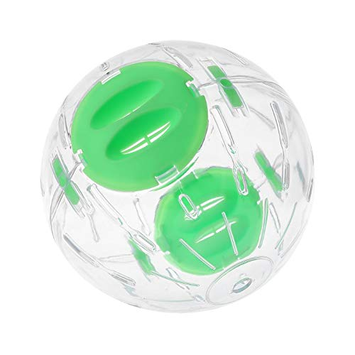Best Design Plastic Clear Hamster Running Exercise Wheel Ball Toy Chinchillas Rat, Mouse Exercise Wheel - Guinea Pig Exercise Wheel, Ball For Humans, Dwarf Hamsters, Ball Toy, Mice Exercise Wheel by KLING'S