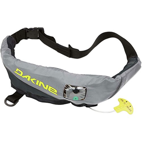 Dakine USCG Approved Type V Inflatable PFD Life Jacket, Charcoal
