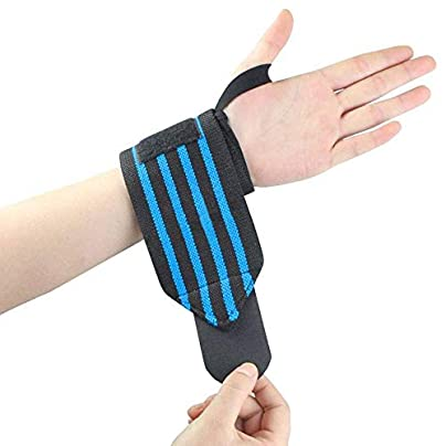 HLHSSS Wrist Wraps Sports Wrist Support Protection Weightlifting Badminton Wristband Tennis Wrist Wraps Fitness Gym Equipment Weight Lifting Wrist Support Estimated Price £26.50 -