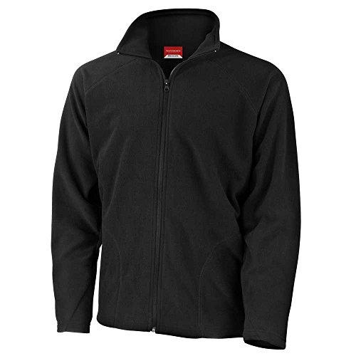 Jackets Coat Mens Micron Black Winter Result Fleece q7wSXc6