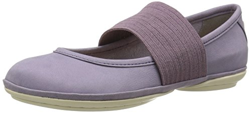 Camper Women's Right Nina Ballet Flat, Light/Pastel Purple, 38 EU/8 M US Pastel Ballet Shoes