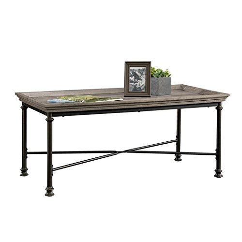 Cheap Sauder 419233 Coffee Table, 41.496″ L x 22.520″ W x 17.992″ H, Northern Oak