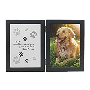 pet memorial frame if love could have saved you - Dog Memorial Frame
