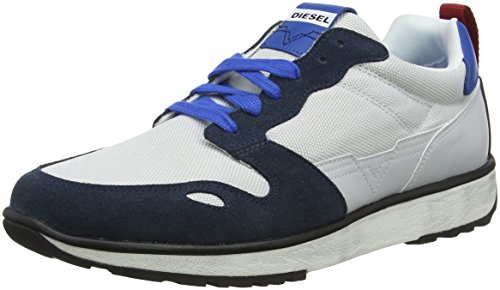Diesel Men's S-Rv Low-Top Sneakers, Blue (H6773 H6773), 9 UK