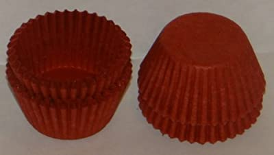 #4 Red Paper Candy Cup Cups 200 Pack Candy Making Supplies