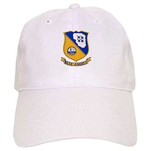 LUDEM U.S. Navy Blue Angels Crest - Baseball Cap with Adjustable Closure, Unique Printed Baseball Hat