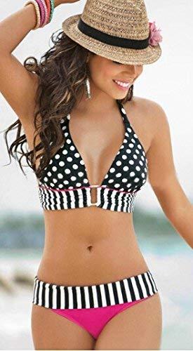 Pezzi Due Dimensione Zhrui colore Europa M America Bikini S Costume Bagno Del A Da In E qUwEw6Ht