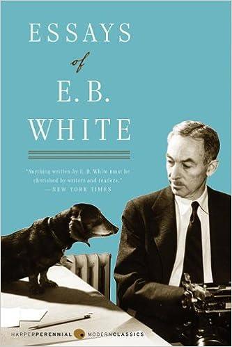 Amazon com essays of e b white perennial classics
