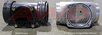 IPD Plenum 68mm Porsche 996 Turbo / S / X50 / GT2