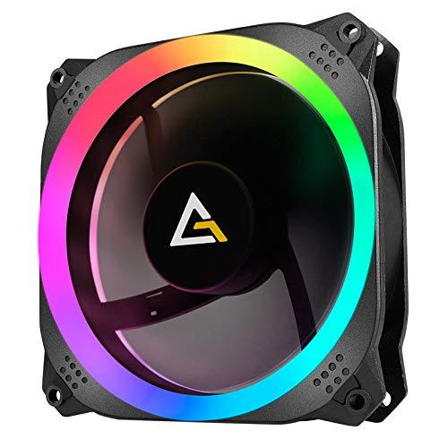 Antec Prizm 140mm Addressable RGB Case Fan Radiator (no controller hub included)