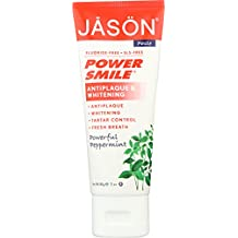 Jason Powersmile Travel Size Toothpaste, Peppermint, 3 Ounce, Packaging May Vary