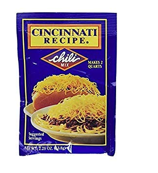 Cincinnati Recipe Chili Mix 2.25 Oz (pack of 3) ()