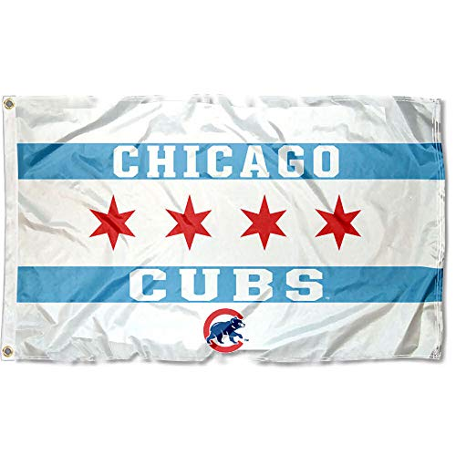 - Wincraft Chicago Cubs City of Chicago Logo Flag