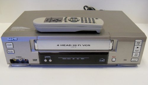 Sanyo VWM-710 4-Head Hi-Fi Stereo VCR