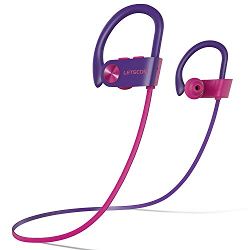 LETSCOM Bluetooth Headphones V5.0