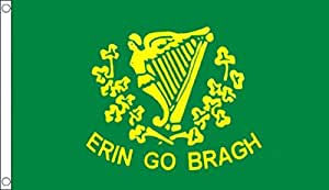 Irlanda Erin Go Bragh bandera de 3'X2' (90cm x 60cm) St Patricks día
