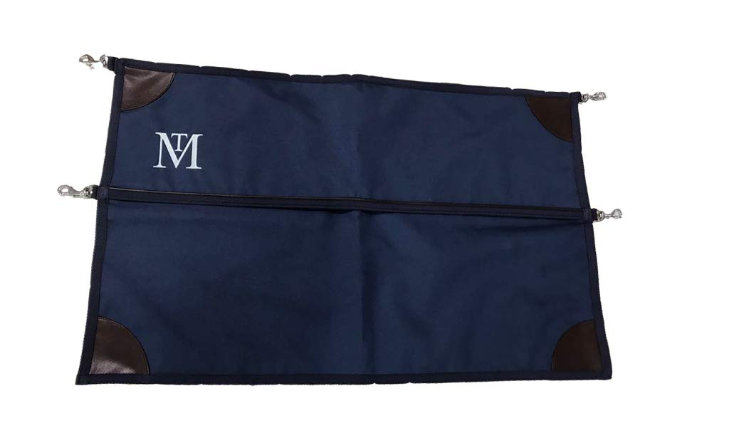 Mark Todd Deluxe Stable Guard (One Size) (Navy/Brown) by Mark Todd