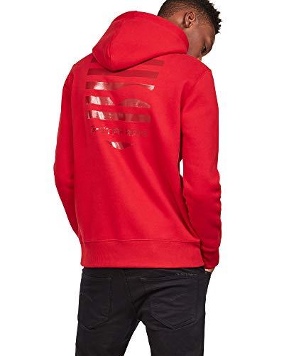 G Homme star 9821 Flame Rot shirt Raw deep Sweat rz7ZrfTc