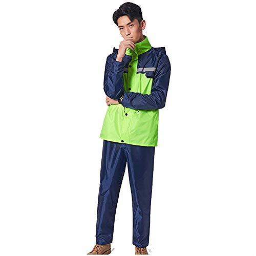 Modèles Épais Randonnée Pluie Xxl Split Femmes Étanche Moto Adulte Hommes Pantalon Équitation Manteau Et De Green Green Imperméable Size color Costume Geyao Voiture Batterie FxTazqq