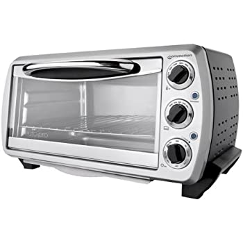 Amazon Com Euro Pro To161 Convection 6 Slice Toaster Oven