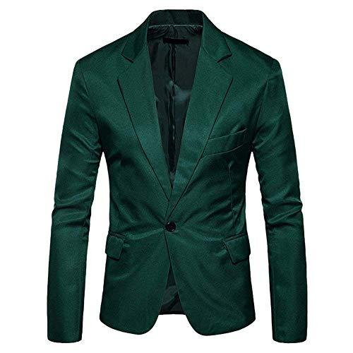 Grün Pour Avec Hommes Slim Fit Essentiel Mariage Loisirs Veste Tuxedo Blazer Bouton De Costume zwSqxEOB