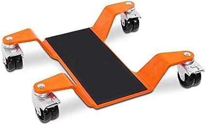 Constands Mover Ii 400 Kg Motorrad Rangierhilfe Orange Hauptständer Rangierwagen Auto