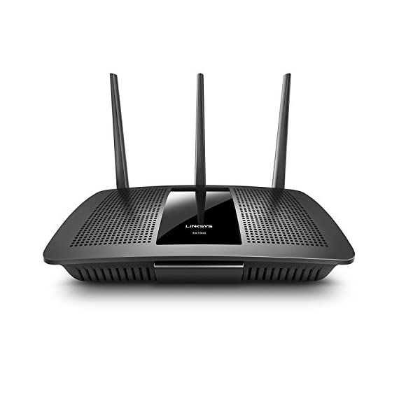 "Linksys 2 Works with Alexa Intelligent tri-band router with -speed Wi-Fi bands up to 2. 2 Gaps. ""Smart connect"" Intelligently chooses the best radio band for your wireless Mu-mimo+ Airtime Fairness improves Ming with 6 high power amplifiers focus and maximize performance and coverage for Both 2. 4GHz & 5GHz"