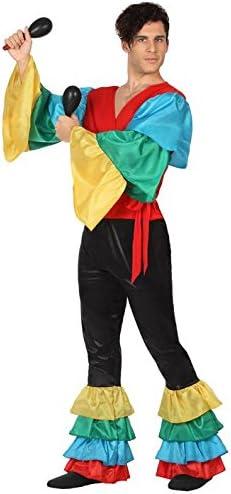 Atosa-26860 Disfraz Rumbero, multicolor, XL (26860): Amazon.es ...