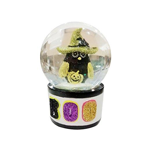 (KiKi Monkey Pumpkin Crystal Ball Easter Ornaments Halloween Decoration Toy Gift (A))