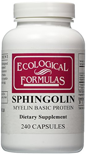 Les formules écologiques - Sphingolin 200 mg 240 capsules [Health and Beauty]