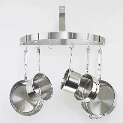 Cuisinart Chef's Classic Half-Circle Wall-Mount Pot Rack