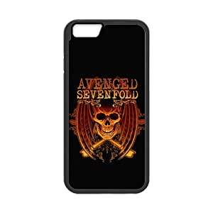 the Case Shop- Customizable Avenged Sevenfold iPhone 6 4.7 Inch TPU Rubber Hard Back Case Cover Skin , i6xq-238