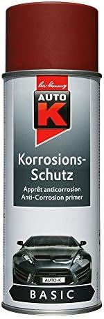 Auto K Kwasny 233 058 Basic Korrosionsschutz Grundierung Rotbraun 400ml Auto