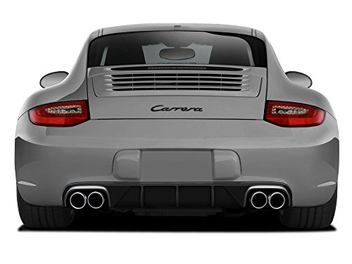 (Aero Function Replacement for 2009-2011 Porsche 911 Carrera 997 C2 C2S C4 C4S Targa 4 Targa 4S Cabriolet Carbon AF-2 Rear Diffuser (CFP) - 1 Piece)