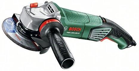 Bosch DIY Winkelschleifer PWS 1000-125, Handgriff, Schutzhaube, Koffer (1000 W, Leerlaufdrehzahl: 11.000 min-1, Schleifscheiben-Ø : 125 mm) 0.603.3A2.600