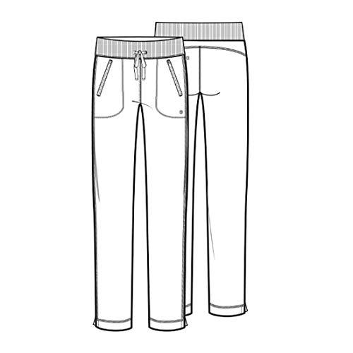 CHEROKEE Infinity Mid Rise Tapered Leg Drawstring Scrub Pants