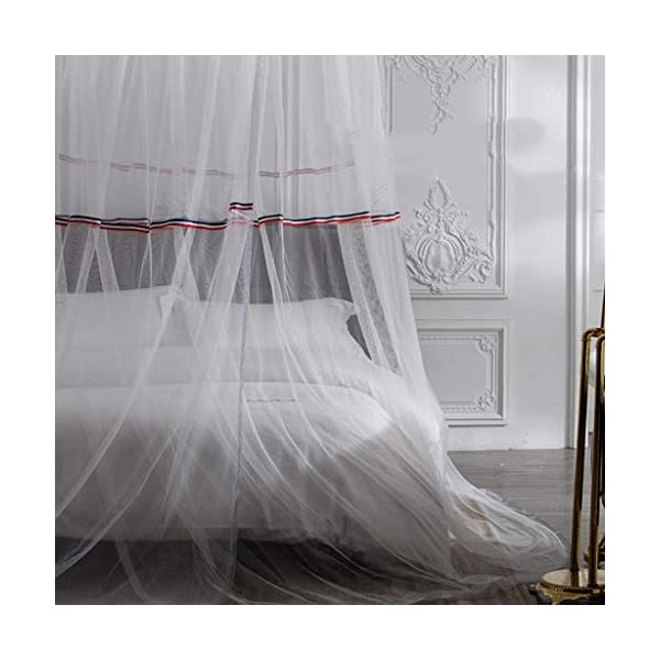 Bulawlly Hanging Letto a baldacchino, Hideaway Tenda Tettoie per Bambini Camere, Letti o culle, Nursery Sheer… 4 spesavip