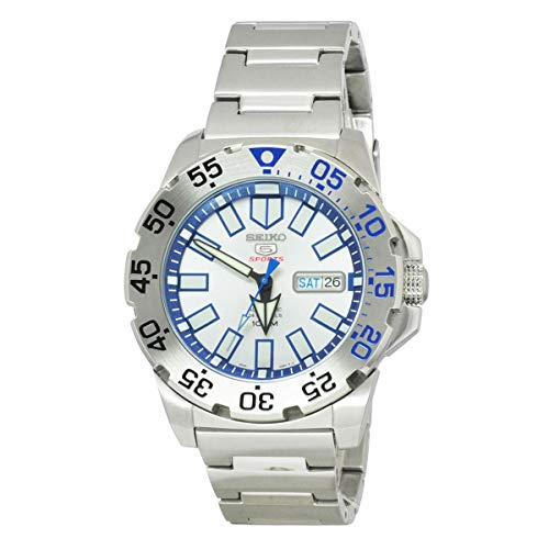 (Seiko 5 Sports Silver Watch)