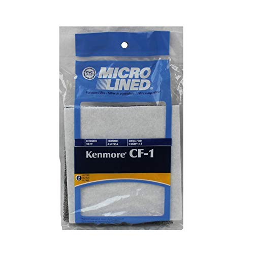 2 UltraCare CF-1 Kenmore Canister Vacuum Motor Filter 81002, 2 pack by Kenmore