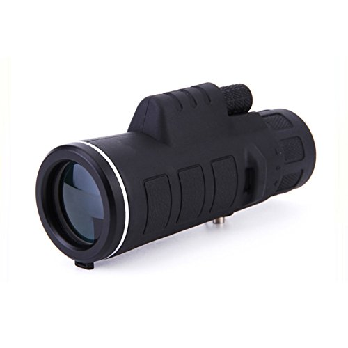 Superex Wide-angle 10X40 Zoomable Monocular Super High Power HD OPTICS Binocular with Case & Cover by Superex