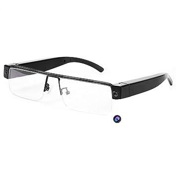 OOLIFENG 1920X1080p HD Gafas De Cámara Espía Gafas Usable Mini DV Cámara Videocámara Grabador De Vídeo: Amazon.es: Electrónica