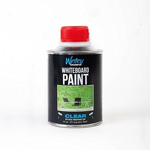 Writeyboard 25-Feet 1-Part Clear Dry Erase Paint (30001) by WriteyBoard