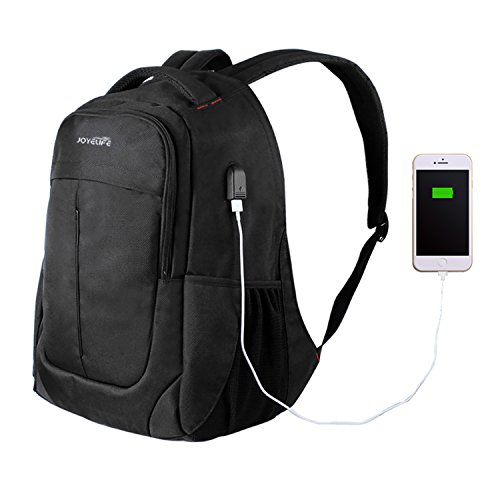 HaoWorks Anti Theft Business Laptop Backpack with USB Cha...