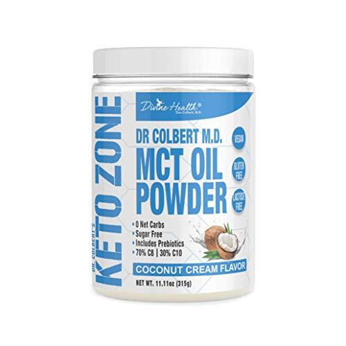 Keto Zone MCT Oil Powder | Coconut Cream Flavor...