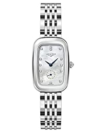 Longines Equestrian Stainless Steel Womens Watch Mother-of-Pearl Dial L6.142.4.87.6